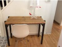 Industrial, contemporary console/ dressing table - Free delivery