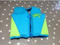 Swimming jacket with removable floats age 4-5 yrs, 18-25kg