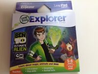 Ben 10 Ultimate Alien game for Leap Pad/Leapster Explorer