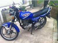 125CC Road bike with long MOT