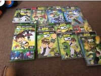 Various Ben 10 dvds