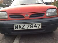 Nissan Micra with Unique Number Plate