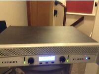 Crown Xti 1000 watt amplifier