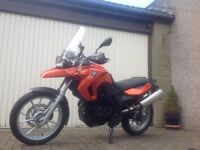 BMW F650 GS Twin, 798cc. 59 Plate, 17520 miles, Immaculate Cond. MOT till May 2018