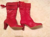 New ladies boots size 3