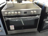 Beko 90cm single oven electric range. £420 RRP £500 new/graded 12 month Gtee