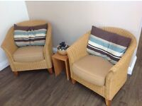 Conservatory furniture (wicker) Excellent condition