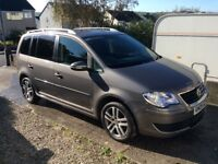 VW Touran 1.9 SE Tdi facelift model