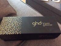 Ghd v gold mini hair straighteners