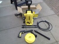 Karcher K2 pressure washer with home kit Wigan.