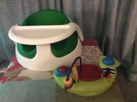 Mamas and papas bumbo chair and activity toy