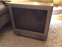 LG TV with working VHS player for free