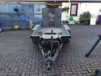 Ifor williams beaver tail plant trailer
