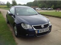 VW Eos for sale £4800 ono. Great car to look at and drive.