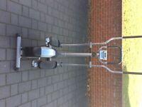 Gym equipment ,weights cross trainer rowing machine etc
