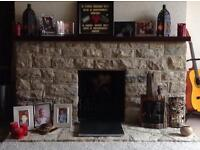 Purbeck stone lot from pictured fireplace