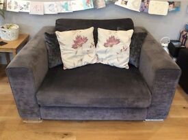 2 x Grey couches for Sale