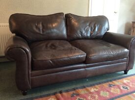 Leather 3-Seater Sofas