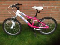 "Girls Mongoose Rockadile 20"" bike"