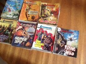 120 commando comics good condition