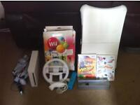 nintendo wii and wii fit board