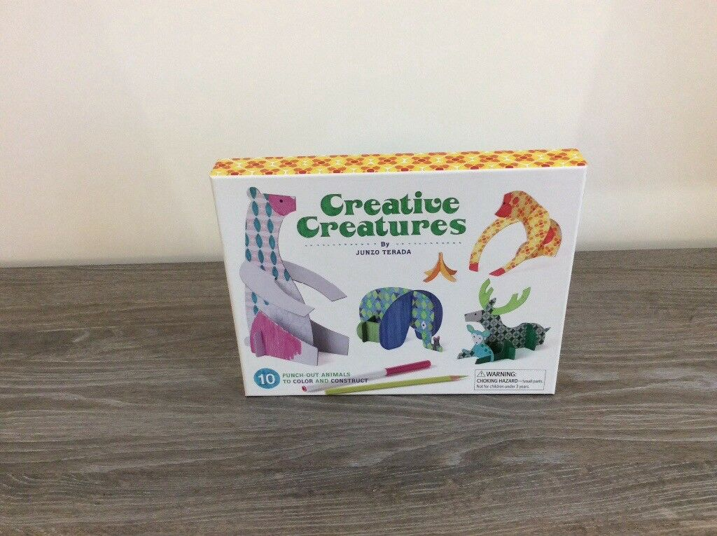Creative Creatures (animal sculptures craft activity)