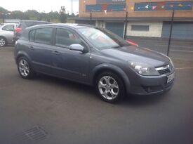 Vauxhall Astra sxi 1.6 56 plate 89000 miles MOT ONE YEAR 5 door grey alloys metallic grey