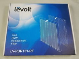 Levoit air purifier and replacement filter