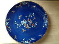 Antique Vintage Bursley Ware (Selah Pattern) Plate, Bowl & Vase