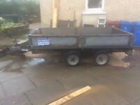 "Ifor Williams 10'x5'5"" trailer"