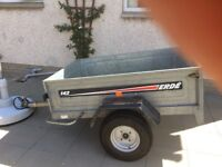 Erde 142 Car Trailer, EXCELLENT condition, only used few times