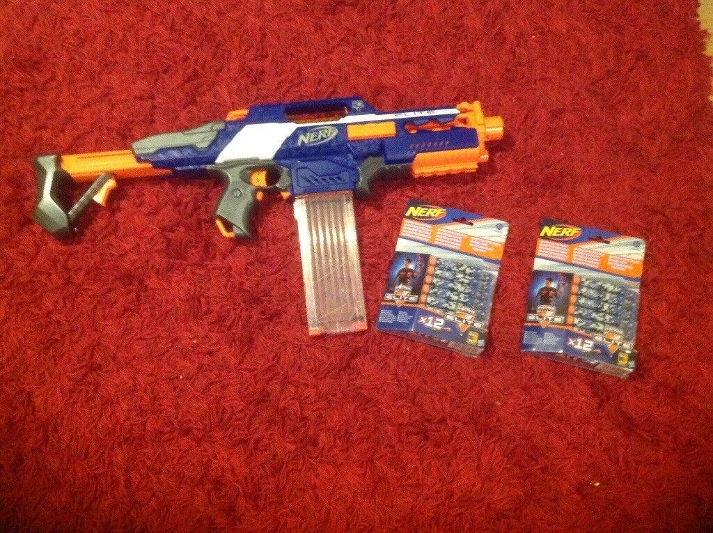 Nerf N Strike Blaster Gun