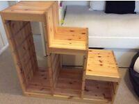 Ikea trofast pine toys storage unit