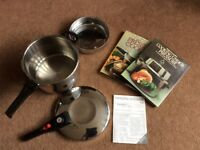Morphy Richards Stainless Steel Pressure Cooker
