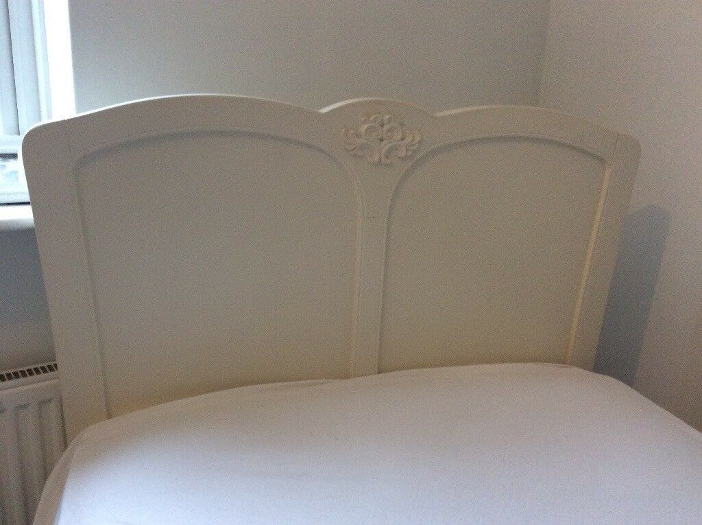 Next single bed in ivory