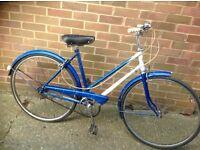 Vintage Ladies 1966 Traditional Town Bike 3speed