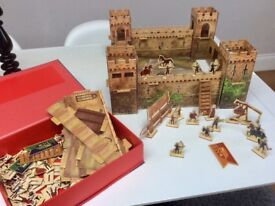 Playmobil horse & Usborne Castle