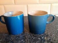 Le Creuset mugs (new)