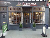 Kitchen assistant required for a small Italian restaurant with accomodation