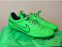 Mens Nike Tiempo Legend V Fg Green Strike Football Boost Sold Out Uk Size 11.5