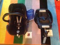 Maxi-Cosi Cabriofix car seat & Maxi-Cosi Easy Base For sale