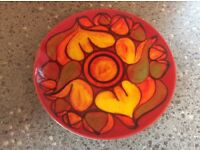 Poole pottery plate