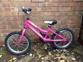 "Girls 16"" Ridgeback Bike Cycle £55"