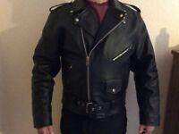 1950s leather jacket