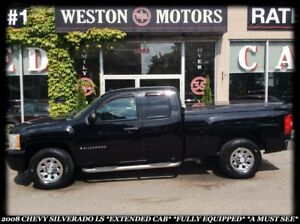 2008 Chevrolet Silverado 1500 LS *EXTENDED CAB *FULLY EQUIPPED *