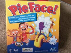 PIE FACE Hasbro Family Game Christmas Present