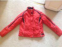 Women's red ski jacket -Italian made