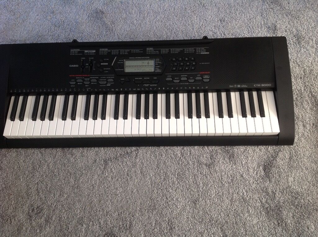 casio keyboard ctk3000 in gloucestershire gumtree. Black Bedroom Furniture Sets. Home Design Ideas