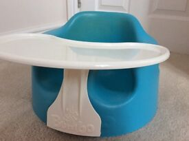 Bumbo seat with removable tray