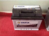 Brand new car / Van battery 12volt 56AH 480A